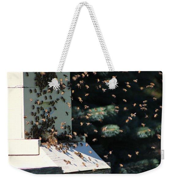 Making Honey - Landscape Weekender Tote Bag