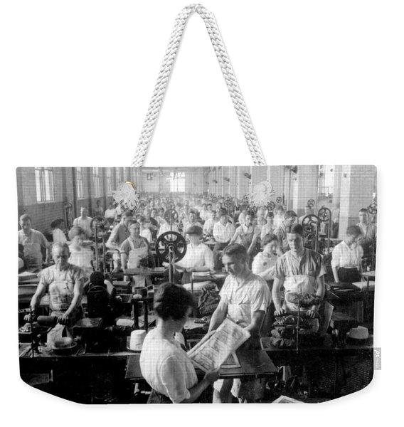 Making Money At The Bureau Of Printing And Engraving - Washington Dc - C 1916 Weekender Tote Bag