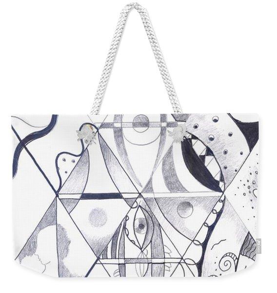 Making Points In Multiple Perspectives Weekender Tote Bag