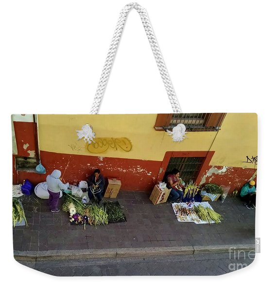 Making Souvenirs On Palm Sunday Weekender Tote Bag