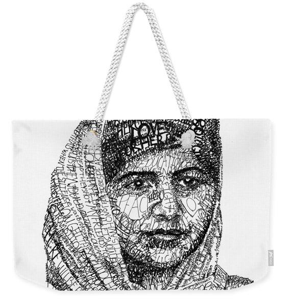 Malala Yousafzai Weekender Tote Bag