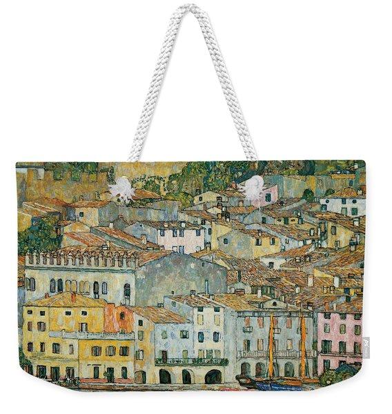 Malcesine  Lake Garda Weekender Tote Bag