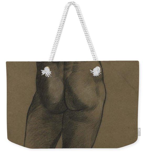 Male Nude Study Weekender Tote Bag