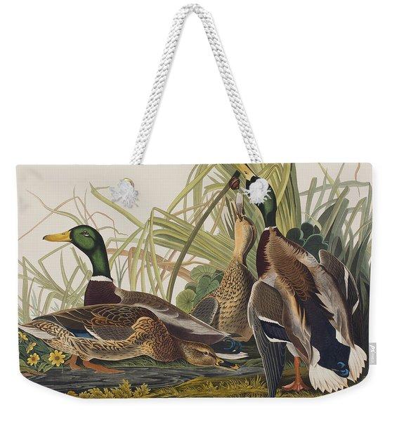 Mallard Duck Weekender Tote Bag