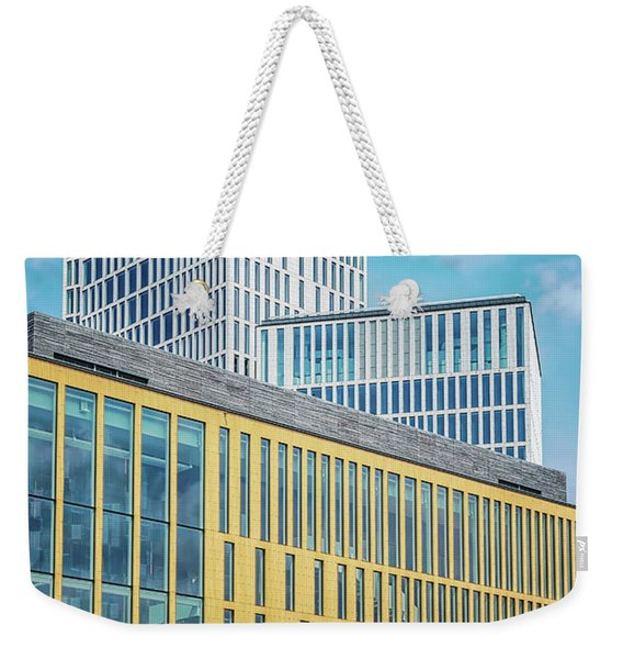 Malmo Live Building Blocks With Sculpture Weekender Tote Bag