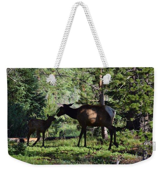 Elk Calf - Mother Rmnp Co Weekender Tote Bag