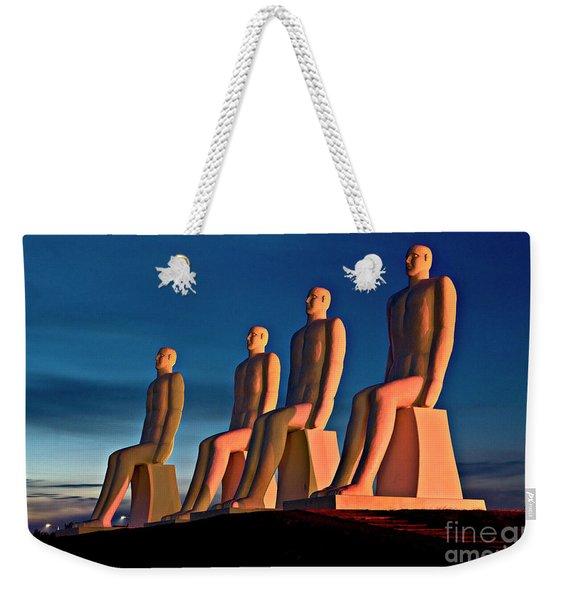 Man At Sea  Weekender Tote Bag