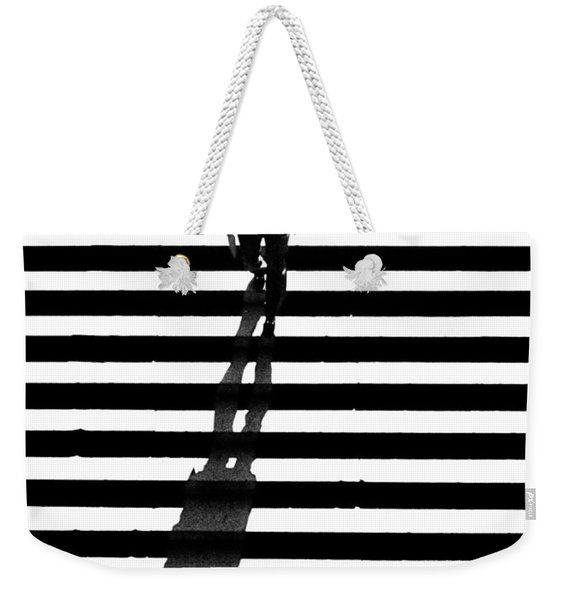 Man Bethesda Steps Weekender Tote Bag