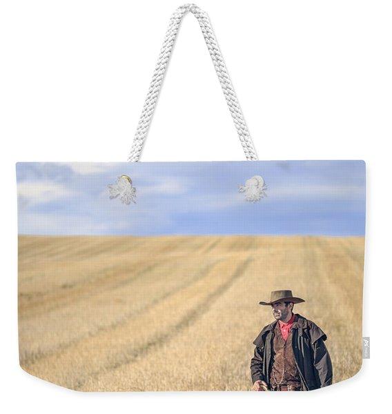 Man Of The West Weekender Tote Bag