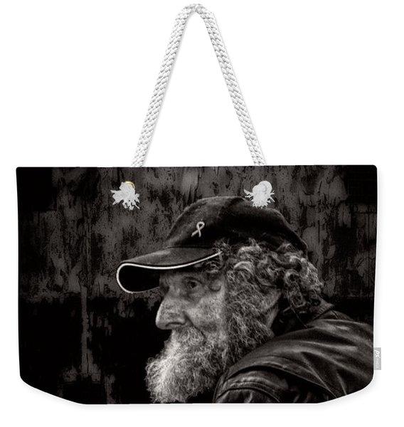 Man With A Beard Weekender Tote Bag