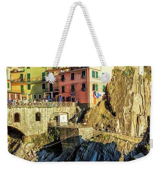 Manarola Afternoon Cinque Terre Italy Weekender Tote Bag