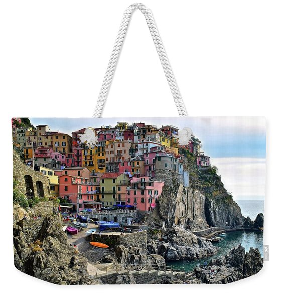 Manarola Version Four Weekender Tote Bag