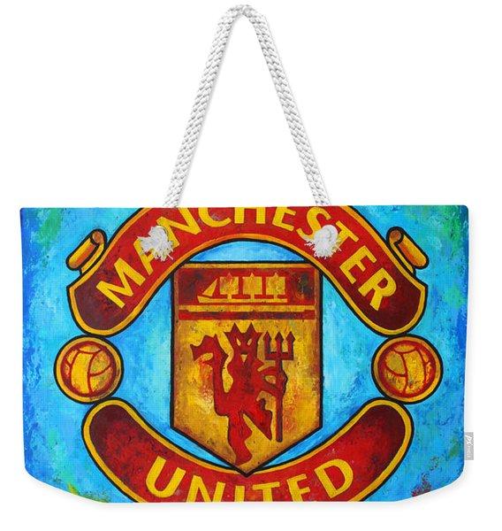 Manchester United Vintage Weekender Tote Bag