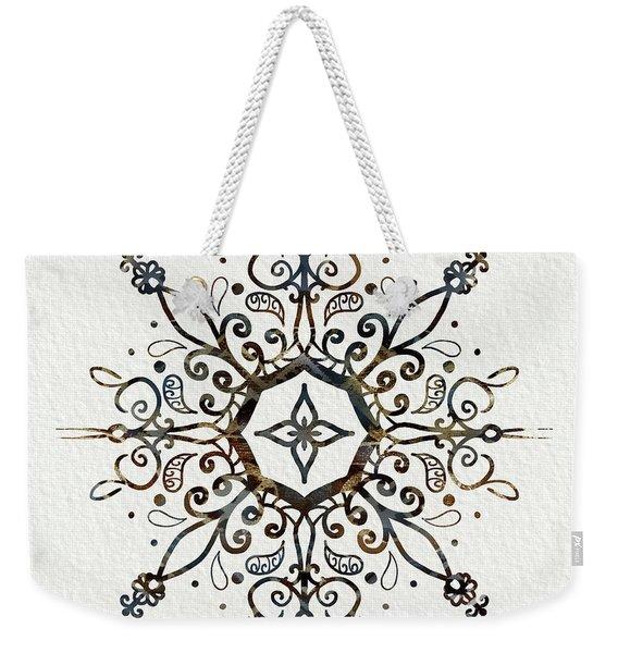 Mandala Earth And Water Weekender Tote Bag