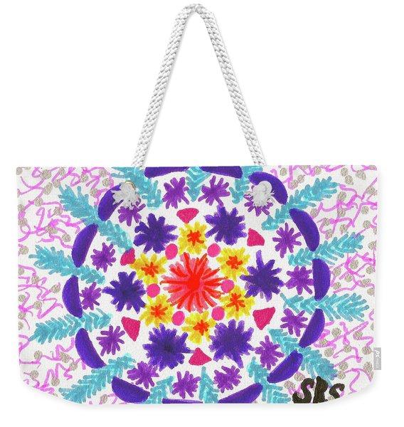 Mandala Magic Weekender Tote Bag