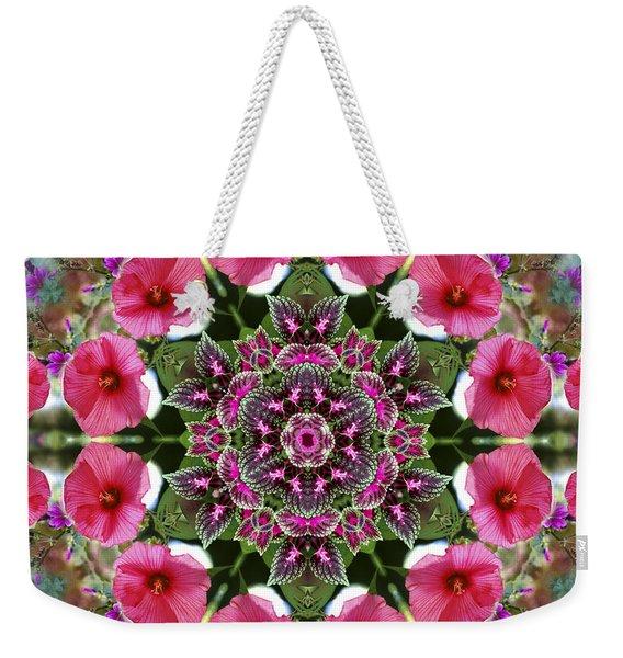 Mandala Pink Patron Weekender Tote Bag