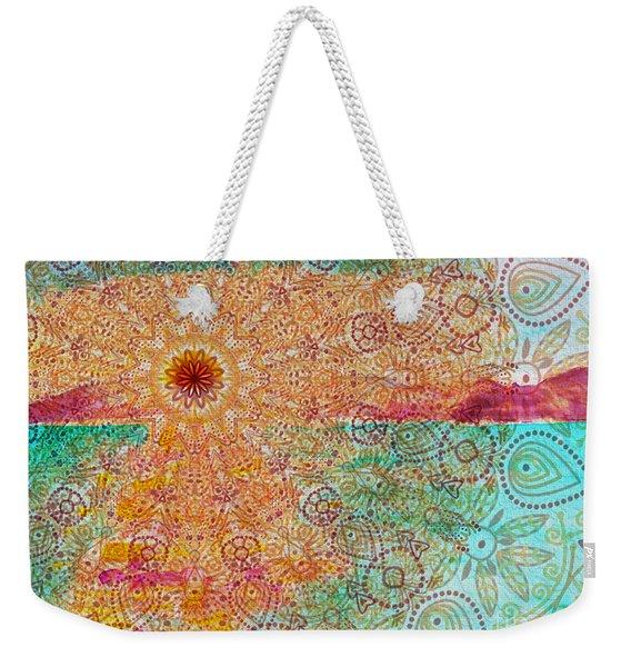 Mandala Sets Over The Dunes Weekender Tote Bag
