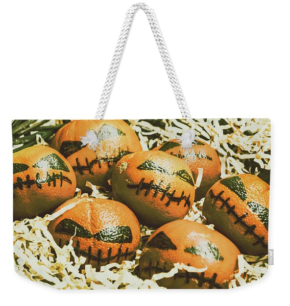 Mandarin Monsters Weekender Tote Bag