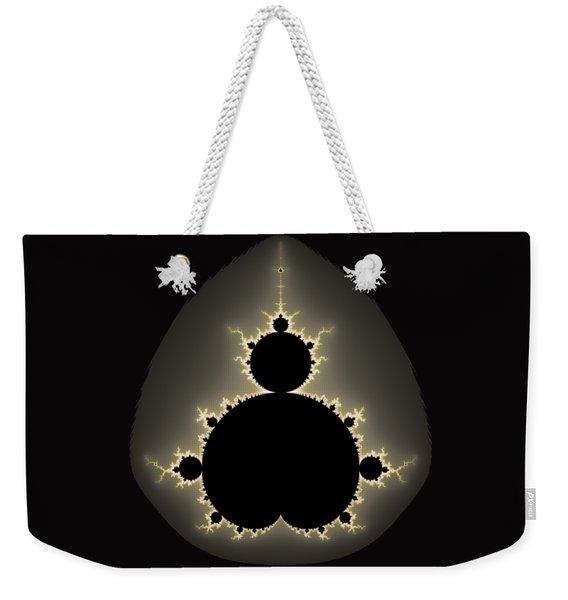 Mandelbrot Set Square Format Art Weekender Tote Bag