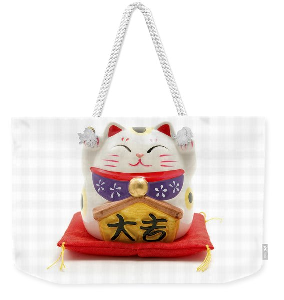 Maneki Neko Weekender Tote Bag