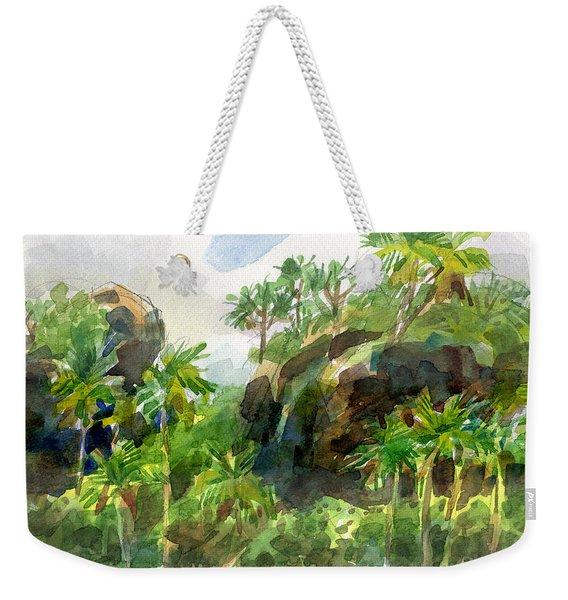 Mangaia Cliffs Weekender Tote Bag