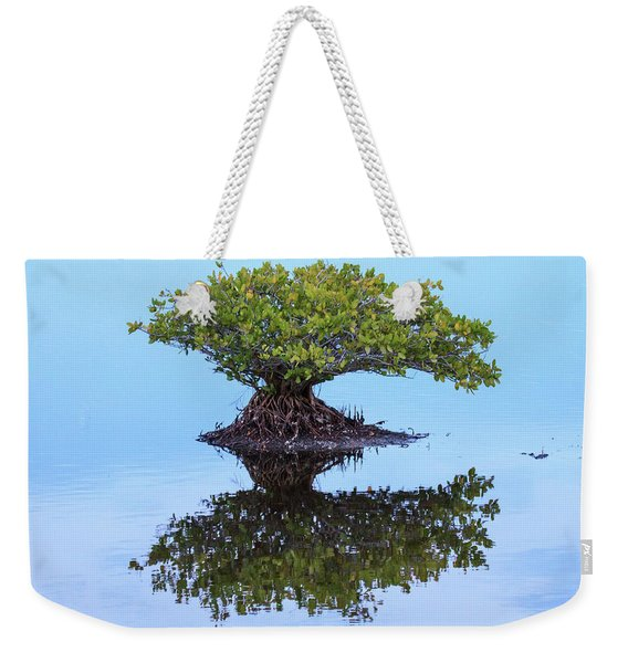 Mangrove Reflection Weekender Tote Bag
