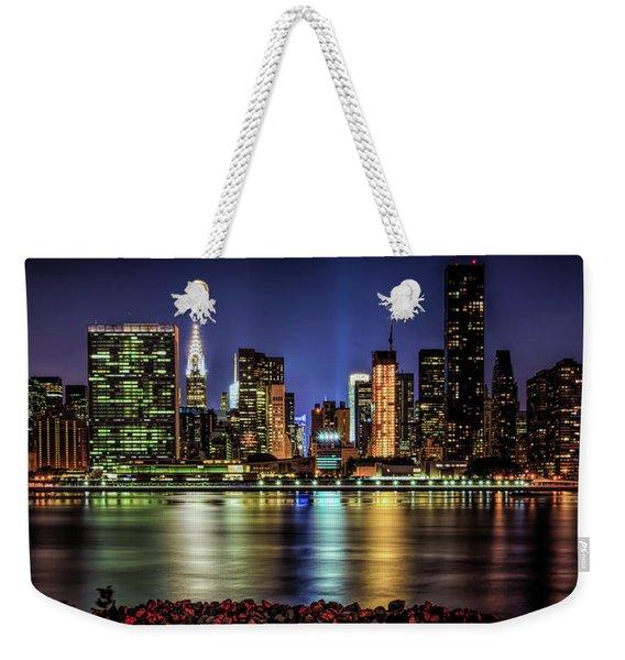 Manhattan Beauty Weekender Tote Bag