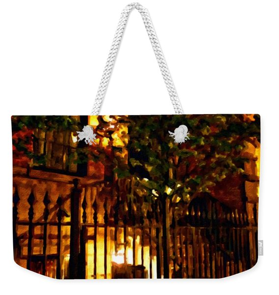 Manhattan East 12th St Weekender Tote Bag
