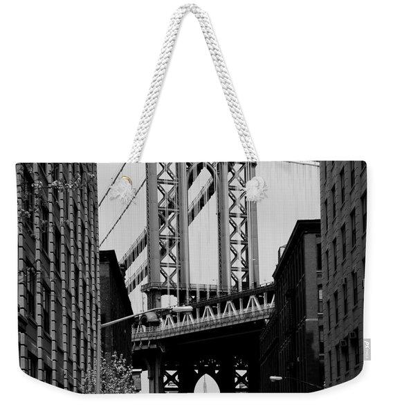 Manhattan Empire Weekender Tote Bag
