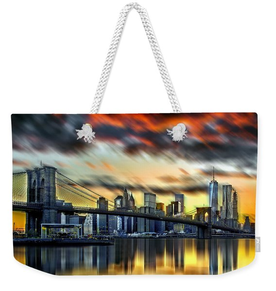 Manhattan Passion Weekender Tote Bag