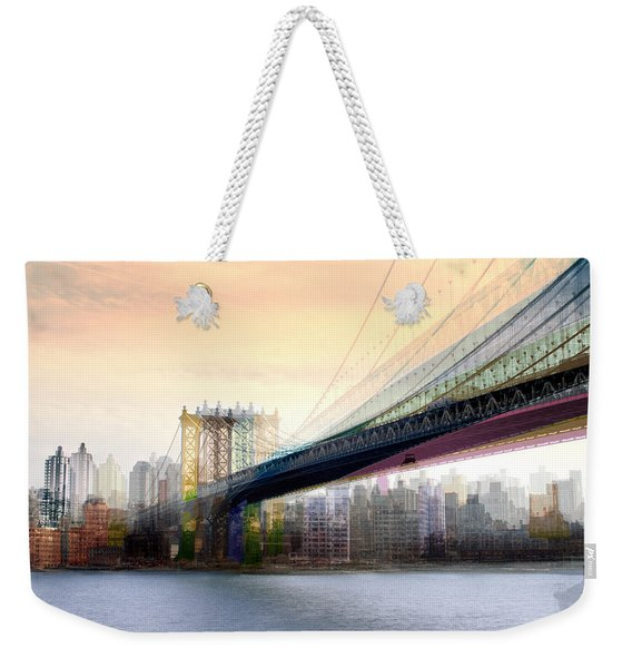 Manhattan X3 Weekender Tote Bag