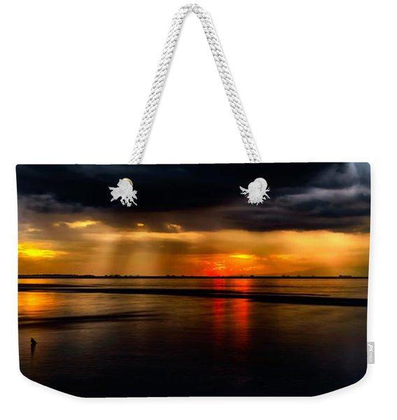 Manila Bay Sunset Weekender Tote Bag