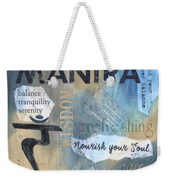 Mantra Weekender Tote Bag