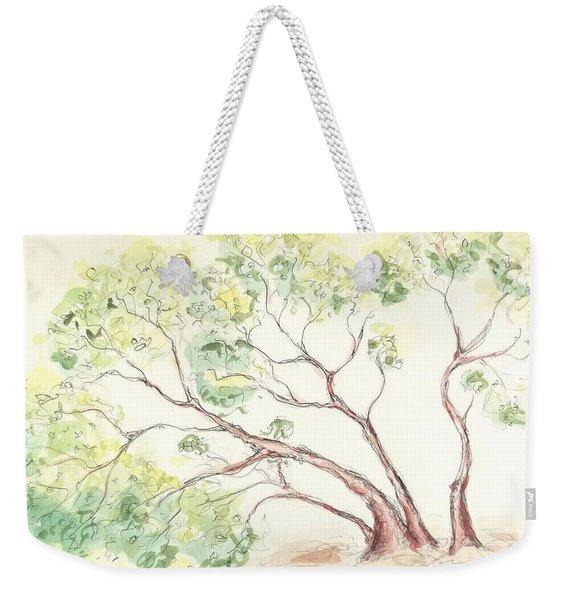 Manzanita Tree Weekender Tote Bag