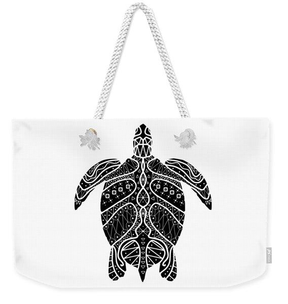 Maori Turtle Weekender Tote Bag