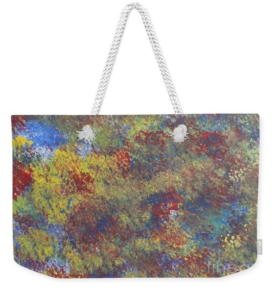 Map Of Color Weekender Tote Bag