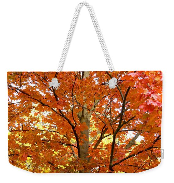 Maple Mania 22 Weekender Tote Bag
