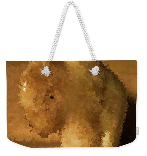 Marble Bison Weekender Tote Bag