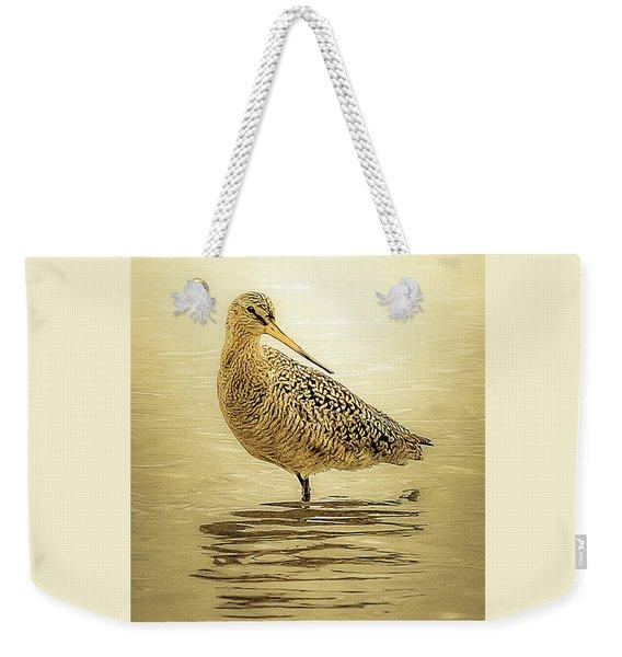Marbled Godwit - Backward Glance Weekender Tote Bag