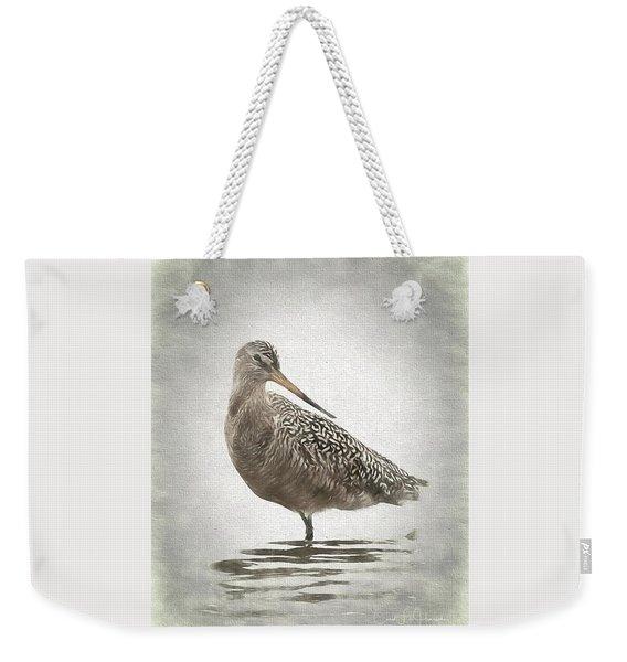 Marbled Godwit Weekender Tote Bag