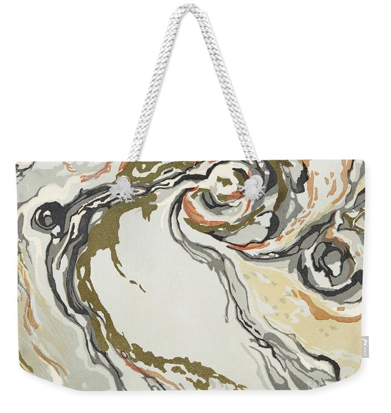 Marbled Pattern Weekender Tote Bag