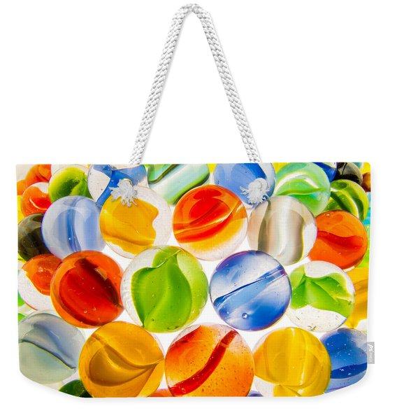 Marbles 3 Weekender Tote Bag