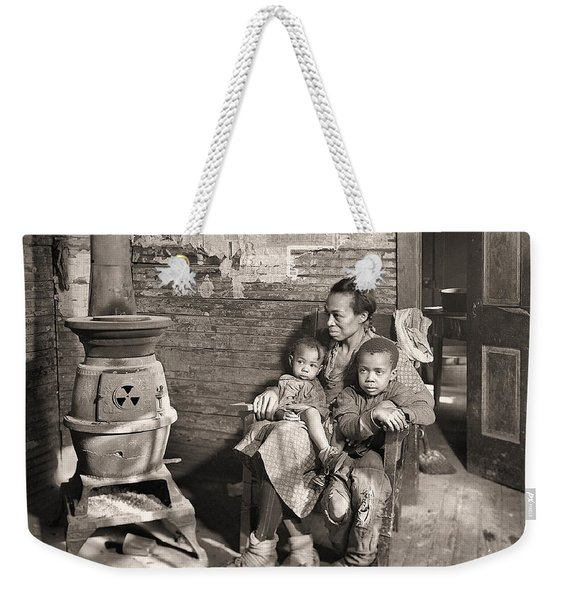 March 1937 Scott's Run, West Virginia Johnson Family. Weekender Tote Bag
