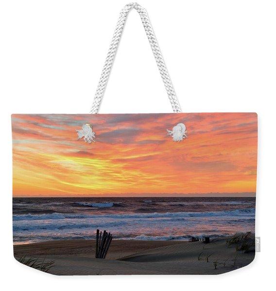 March 23 Sunrise  Weekender Tote Bag