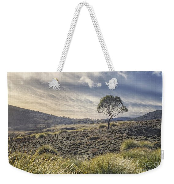 March Across The Endless Plain Weekender Tote Bag