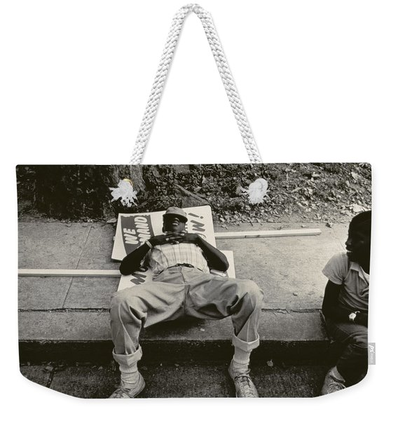 March On Washington Weekender Tote Bag