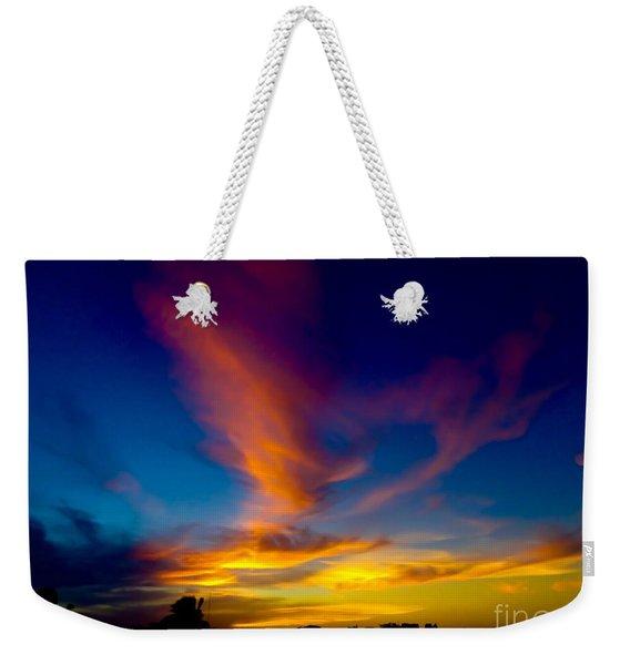 Sunset March 31, 2018 Weekender Tote Bag