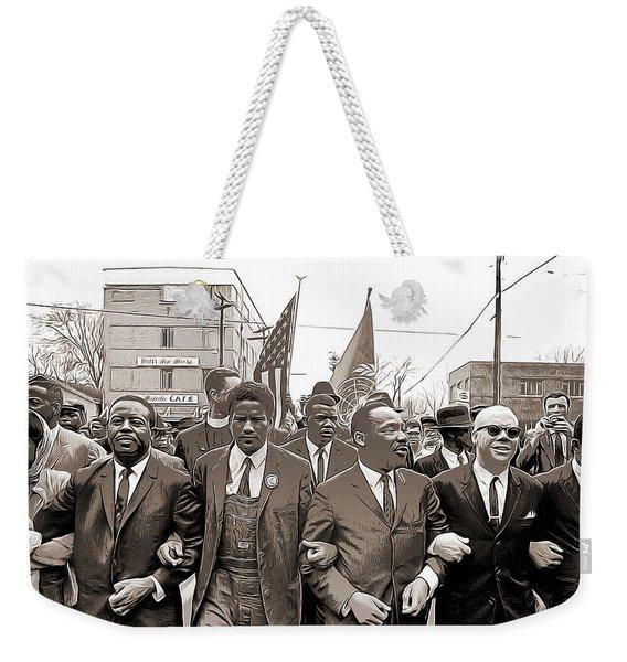 March Through Selma Weekender Tote Bag