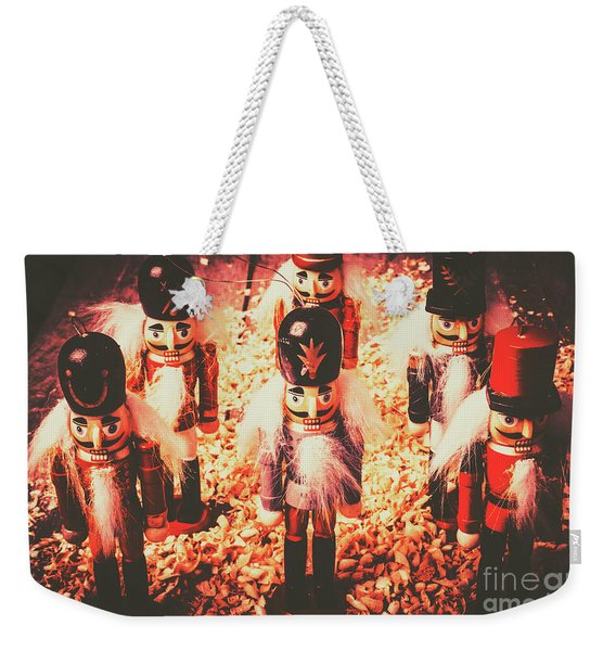 Marching In Tradition Weekender Tote Bag