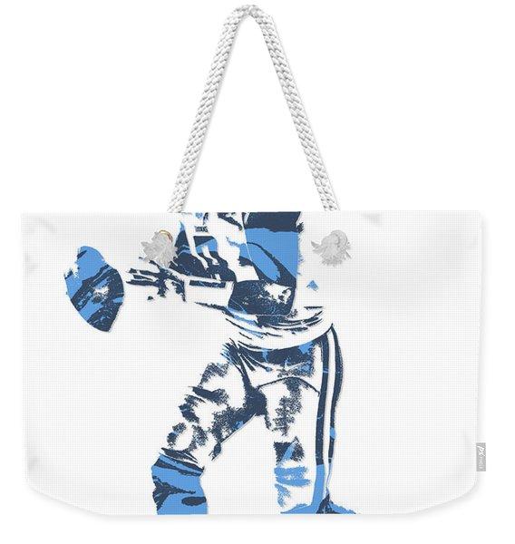Marcus Mariota Tennessee Titans Pixel Art 12 Weekender Tote Bag